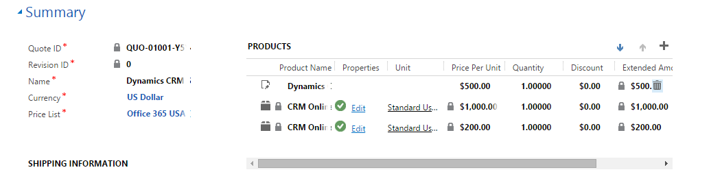Generating Word Quote Template In Dynamics CRM 40 Scaleable New Crm Quote