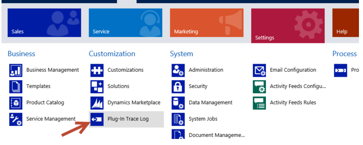 tracing in dynamics crm plugins