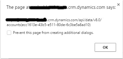 CRUD operations using Dynamics CRM 2016 Web API - Scaleable Solutions